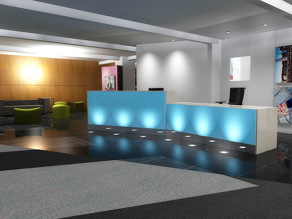 3D Visualisations - Office Planning, Space Planning, Office Layout, Office Furniture